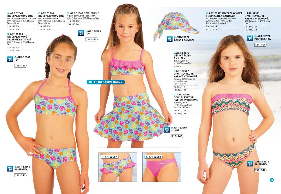 f65021b28288c Girls swimwear 2018 - catalog [68] | LITEX