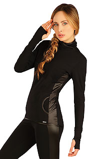 Hoodies, turtlenecks LITEX > Women´s twisted high neck jumper.