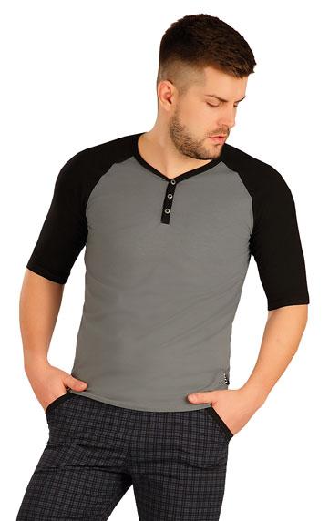 Triko pánské s 3/4 rukávem.   Pánské oblečení LITEX
