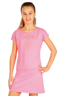 Kid´s sportswear LITEX > Children´s dress with fallen sleeves.