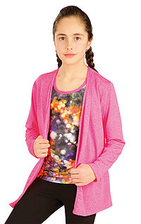 Kid´s sportswear LITEX > Children´s cardigan with long sleeves.