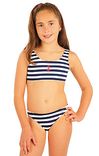 Girl´s low waist bikini panties. LITEX