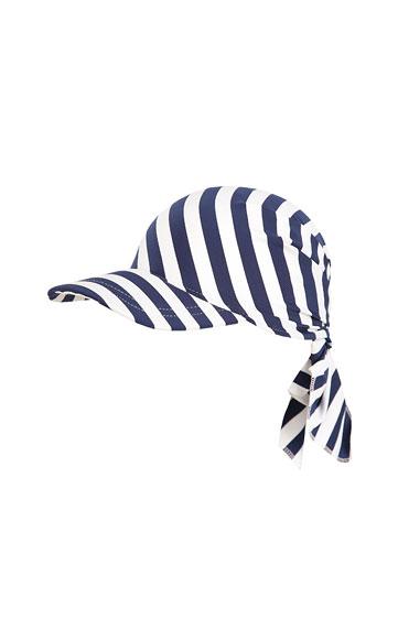 Tie back sun head visor. | Girls swimwear LITEX