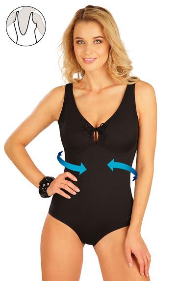 Sťahujúce jednodielne plavky s kosticami. | Jednodielne plavky LITEX