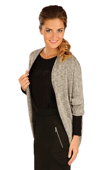 Cardigan with 3/4 length sleeves. | Sportswear - Discount LITEX