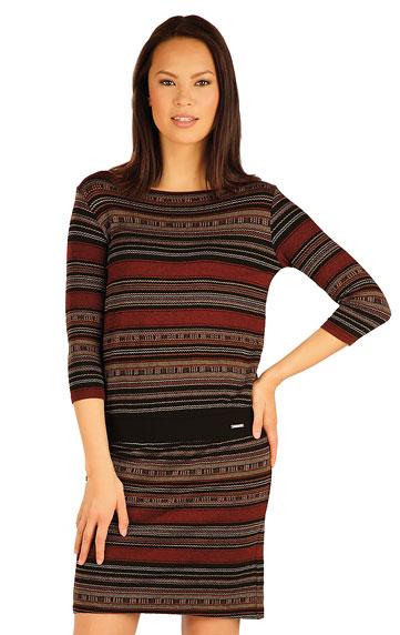 Women´s dress with 3/4 length sleeves. | Sportswear - Discount LITEX
