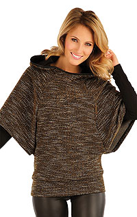 Discount LITEX > Women´s hooded poncho.