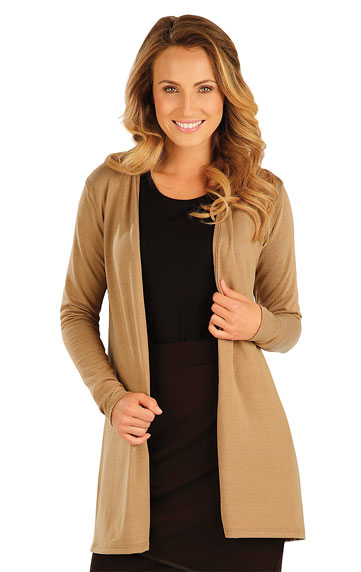 Women´s cardigan with long sleeves. | Sportswear - Discount LITEX