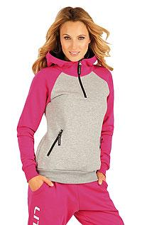 Damen Sweatshirt mit Kapuzen. LITEX