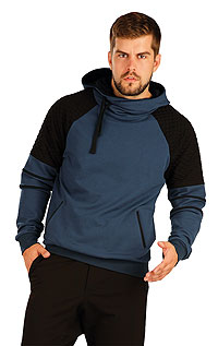 Pánské oblečení LITEX > Mikina pánská s kapucí.