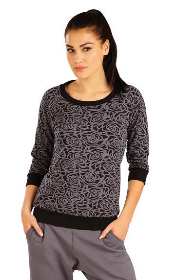Damen T-Shirt, mit 3/4 Ärmeln. | Tops LITEX