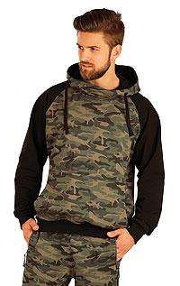 Herren Sweatshirt mit Kapuzen. | Sportbekleidung LITEX