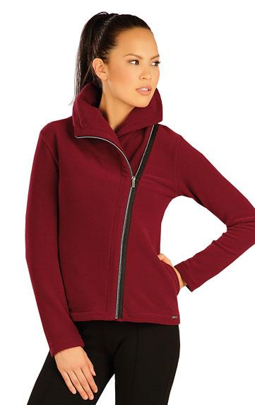 Bunda dámska s golierom. | Športové oblečenie -  zľava LITEX
