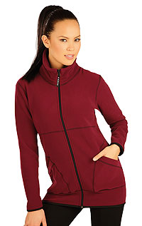 Women´s jacket with stand up collar. LITEX
