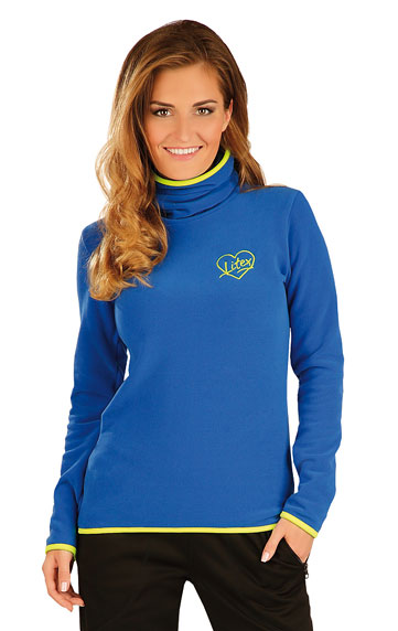 Damen Rollkragenpullover mit langen Ärmeln. | Sportbekleidung LITEX