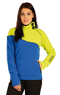 Women´s jumper with stand up collar. LITEX