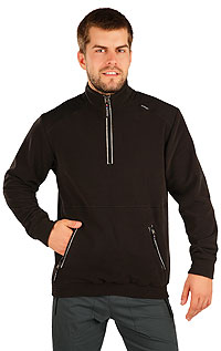 Men´s jumper with stand up collar. LITEX