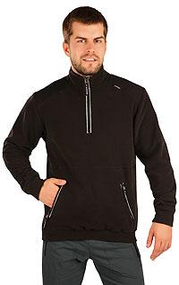 Men´s jumper with stand up collar. | Men´s sportswear LITEX