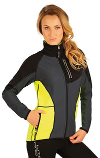 Women´s jacket with stand up collar. | For runners - bikers LITEX