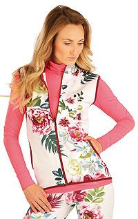 Športové oblečenie LITEX > Vesta dámska so stojačikom.