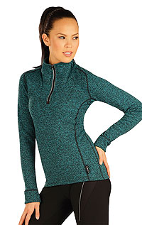 Women´s jumper with stand up collar. | For runners - bikers LITEX