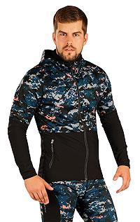 Sportbekleidung LITEX > Herren Jacke mit Kapuze.