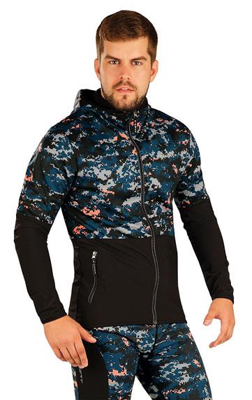 Bunda pánska s kapucňou. | Športové oblečenie -  zľava LITEX