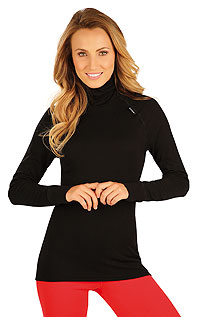 Women´s thermal turtleneck shirt with long sleeves. LITEX