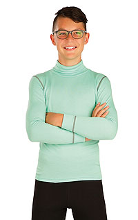 Children´s thermal turtleneck shirt with long sleeves. LITEX