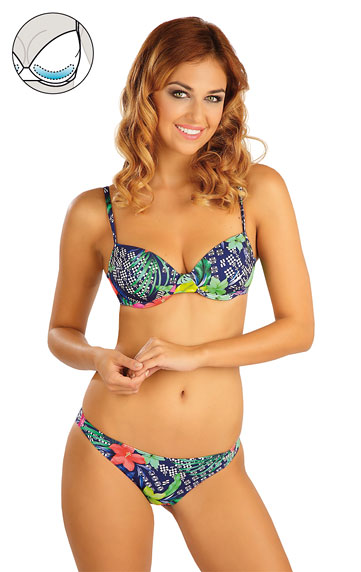 Bikini top with push-up cups. | Swimwear Discount LITEX