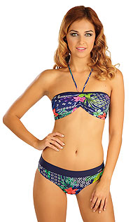 Swimsuit LITEX > BANDEAU bikini top with removable pads.