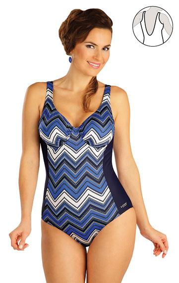 Jednodielne plavky s kosticami. | Dámske plavky - zľava LITEX