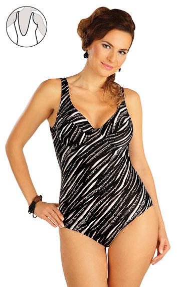 Jednodílné plavky s kosticemi. | Jednodílné plavky LITEX