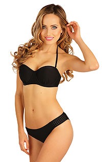 BANDEAU bikini top with cups. LITEX