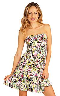 Plážové doplnky LITEX > Šaty dámske bez ramienok.