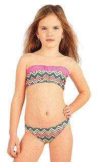 Girls swimwear LITEX > Girl´s bikini BANDEAU top.