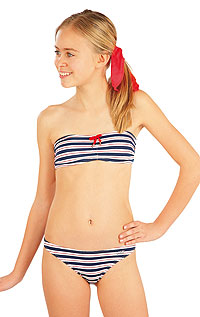 Girl´s low waist bikini panties. LITEX