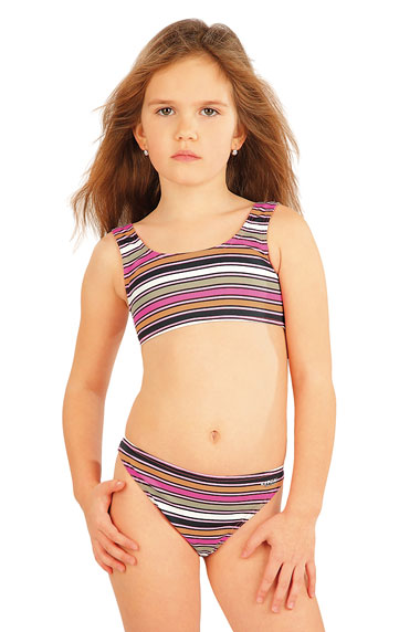 Girl´s low waist bikini panties. | Kid´s swimwear - Discount LITEX