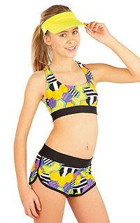 Litex Dívčí plavky sportovní top. 52619164 0 - vel. 164 viz. foto