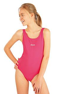 Litex Dívčí jednodílné sportovní plavky. - vel. 140 viz. foto