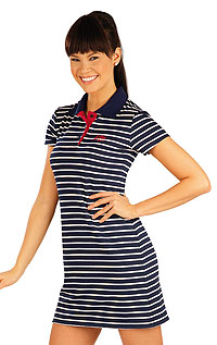 Sportswear LITEX > Women´s dress with short sleeves.