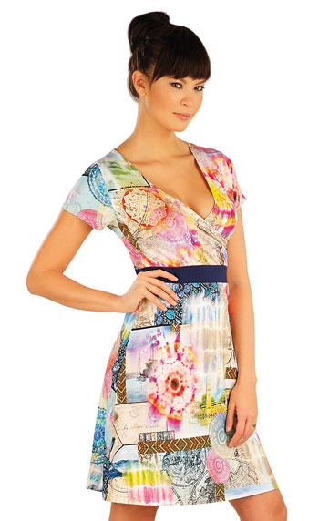 Šaty dámske s krátkym rukávom. | Šaty a sukne LITEX