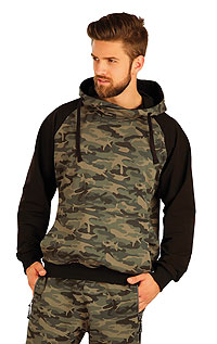 Men´s sportswear LITEX > Men´s hooded jumper.