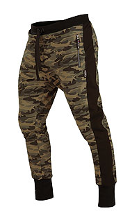Men´s sportswear LITEX > Men´s drop crotch long trousers.