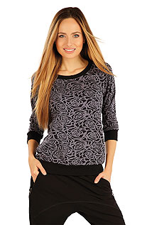 Sportswear LITEX > Women´s shirt with 3/4 length sleeves.