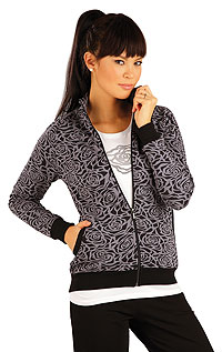 Sportswear LITEX > Women´s jacket with stand up collar.