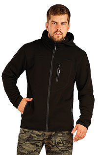 Men´s sportswear LITEX > Men´s hooded jacket.