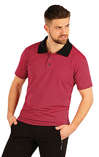 Men´s sportswear LITEX > Men´s polo shirt with short sleeves.