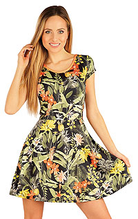 Damen Kleid kurzarm. LITEX