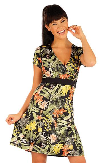 Šaty dámské s krátkým rukávem. | Sportovní oblečení LITEX